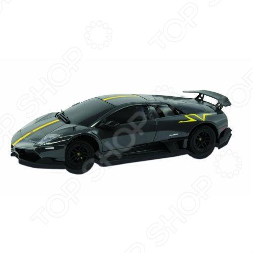 Автомобиль на радиоуправлении 1:26 KidzTech Lamborghini 670-4Машинки, мотоциклы, квадроциклы радиоуправляемые<br>Автомобиль на радиоуправлении 1:26 KidzTech Lamborghini 670-4 станет прекрасным дополнением к миниатюрному автопарку вашего ребенка. Машина за счет радиоуправляемой системы позволяет двигаться вперед, назад, вправо или влево. Во время движения фары у автомобиля светятся. Эта модель представляет собой точную миниатюрную копию реального автомобиля. Игрушка выполнена в масштабе 1:26 и полностью детализирована. Машина изготовлена только из высококачественных материалов, абсолютно безопасных для детского здоровья. Такая модель станет прекрасным подарком не только для детей, но и взрослых увлеченных коллекционированием.<br>