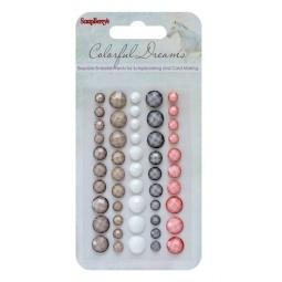 Купить Клеевые граненые камушки ScrapBerry's Цветные сны 1