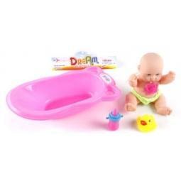 фото Пупс в ванночке Shantou Gepai 8055-13