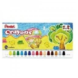фото Набор мелков восковых Pentel Crayons: 16 предметов