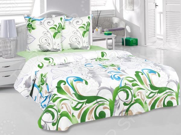 Комплект постельного белья Tete-a-Tete «Нежность». 2-спальный2-спальные<br>Комплект постельного белья Tete-a-Tete Нежность изготавливается из хлопковой ткани с улучшенными потребительскими свойствами, а рисунки создаются специально для этой продукции и часто обновляются в соответствии с последними тенденциями моды. Набор станет гармоничной частью интерьера и повседневной жизни. Это постельное белье будет долго радовать хозяев, ведь оно не линяет, не садится и отлично выдерживает более 500 стирок. Кроме того, при изготовлении постельного белья используются устойчивые гипоаллергенные красители.<br>
