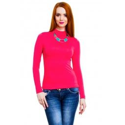 фото Водолазка Mondigo 036. Цвет: ярко-розовый. Размер одежды: 42