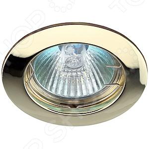 Светильник светодиодный встраиваемый Эра KL1 GD светильник светодиодный встраиваемый эра kl11a wh gd