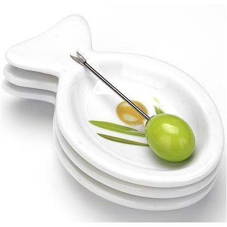 Купить Набор блюд Loraine LR-633r «Олива»