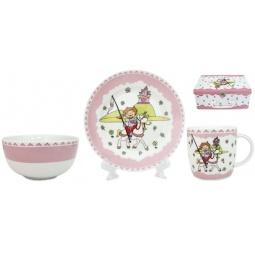 Купить Набор посуды для детей Elan Gallery «Добрая сказка»