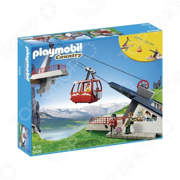 Конструктор игровой Playmobil Фуникулер оригинальный, подарочный комплект для игры, состоящий из деталей, которые могут быть собраны в фуникулер. Детский конструктор является достаточно практичным учебным пособием, так как он развивает память, мышление, логику, фантазию, а также моторику рук. Сборка конструктора подарит ребенку массу удовольствия и приятное времяпрепровождение.