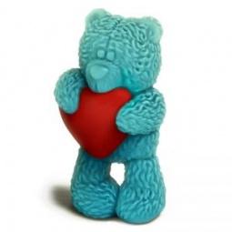 Купить Форма пластиковая Выдумщики «Медвежонок Тедди стоит с сердечком»