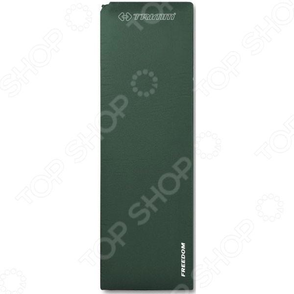 Коврик туристический Trimm Comfort FreedomТуристические коврики и пледы<br>Коврик туристический Trimm Comfort Freedom - удобный и практичный туристический коврик, который станет отличным решением для заядлых путешественников и любителей отдыха на природе. Изделие выполнено из высококачественного материала и отличается надежным покрытием из полиэстера. Комфортная толщина в 5 см обеспечивает надежную защиту от сырости и холода. Действие коврика можно сравнить с эффектом спального мешка или одежды. Он захватывает воздух и удерживает слой воздуха между источником холода и вашим телом. Ваше тело будет постоянного согревать этот слой, препятствуя попаданию холода. Самонадувающаяся конструкция коврика избавит вас от необходимости постоянно подкачивать воздух, что гарантирует комфортный и приятный отдых.<br>
