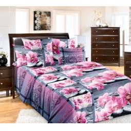 Купить Комплект постельного белья ТексДизайн «Дикая орхидея». Евро
