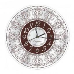 фото Часы настенные Вега СО 1-12 «Узоры»