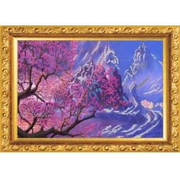 Купить Набор для вышивания бисером Светлица «Дерево желаний»
