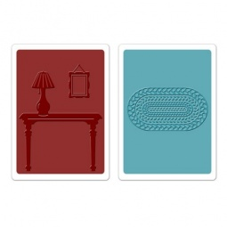 фото Набор форм для эмбоссирования Sizzix Textured Impressions Лобби