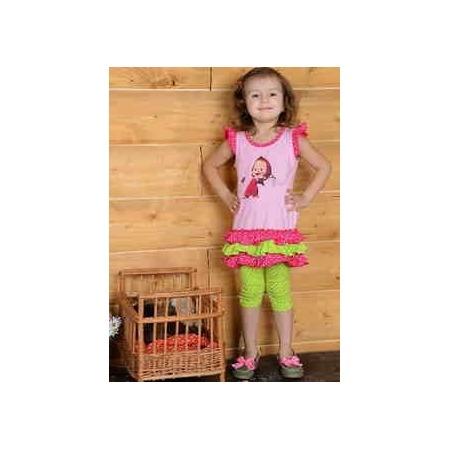 Купить Туника для девочек Detiland SS14-CVV-GTU-442. Цвет: розовый