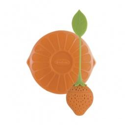 фото Ситечко для заваривания чая Trudeau «Фруктовый бум». Цвет: оранжевый