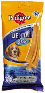 Пластинки для снятия зубного камня у собак средних и крупных пород Pedigree Denta Stix Daily Medium&Big