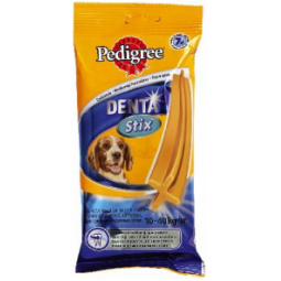 фото Пластинки для снятия зубного камня у собак средних и крупных пород Pedigree Denta Stix Daily Medium&Big. Вес: 180