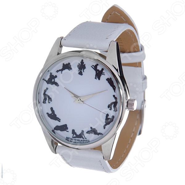 Часы наручные Mitya Veselkov «Камасутра силуэт» MV.White часы наручные mitya veselkov часы mitya veselkov камасутра силуэт на белом арт shine 20
