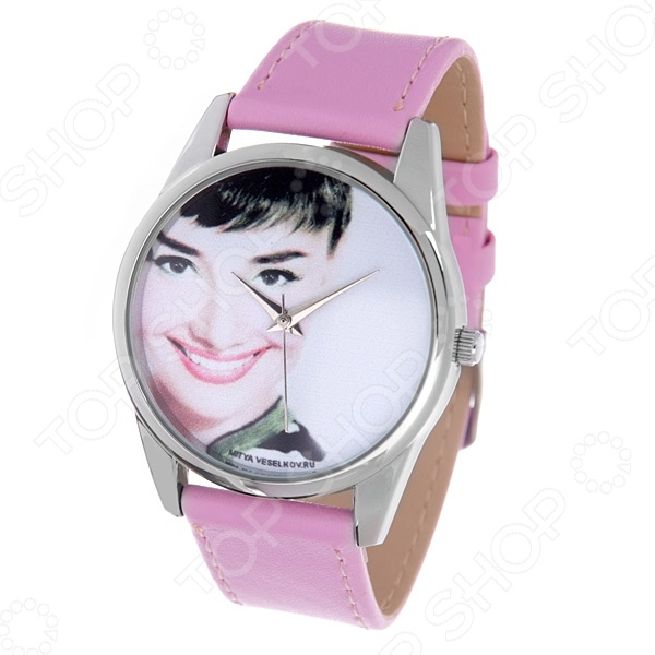 Часы наручные Mitya Veselkov «Одри улыбается» Color часы наручные mitya veselkov райский сад color