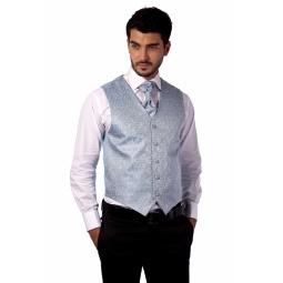 фото Жилет Mondigo 20483. Цвет: голубой. Размер одежды: XXL