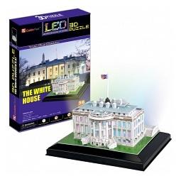 Купить Пазл 3D CubicFun «Белый дом с иллюминацией»