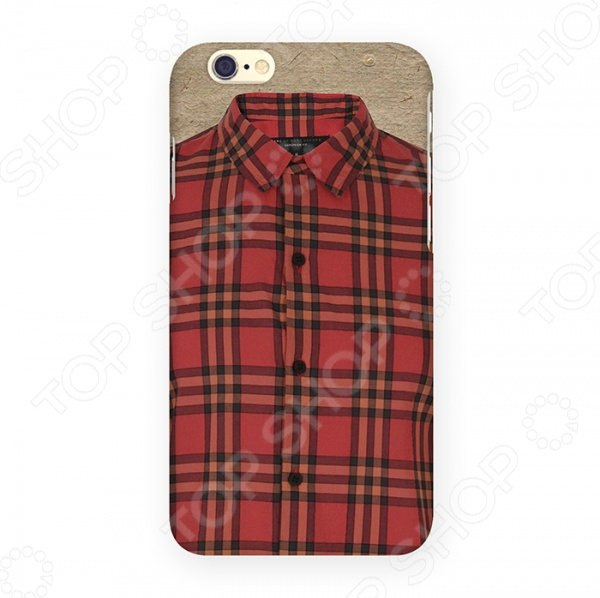 Чехол для iPhone 6 Mitya Veselkov «Рубашечка» чехлы для телефонов mitya veselkov чехол для iphone 6 салатовый
