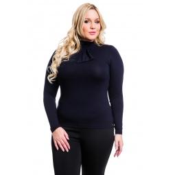 фото Водолазка Mondigo XL 7013. Цвет: черный. Размер одежды: 48