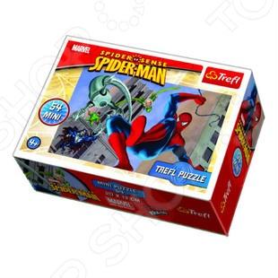 Пазл 54 элемента Trefl «Человек-паук» trefl пазл истории