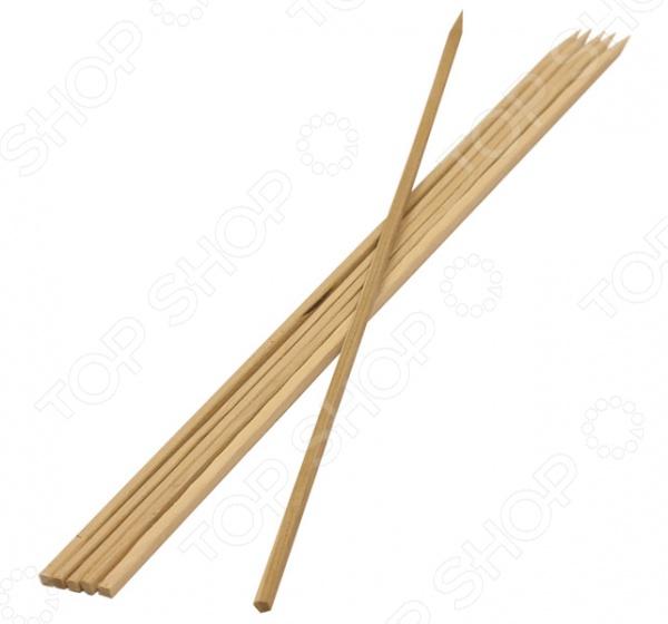Шампуры бамбуковые Boyscout 61066 шампуры двойные boyscout с деревянной ручкой 33 см 4 шт