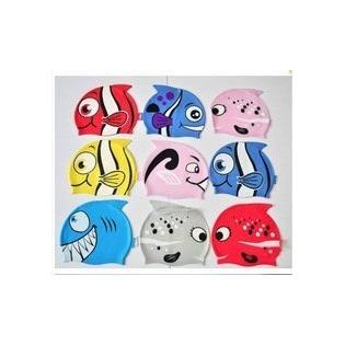 Купить Шапочка для плавания детская YS «Рыбка». В ассортименте