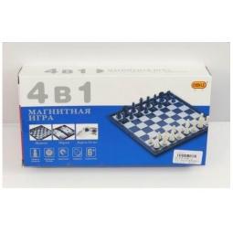 фото Игра настольная 4 в 1: шахматы, шашки, нарды, карты Shantou Gepai 621955