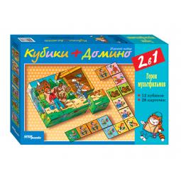 фото Настольная игра Step Puzzle Союзмультфильм. Кубики и домино