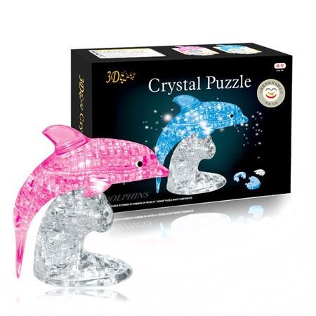 Купить Кристальный пазл 3D Crystal Puzzle «Дельфин». В ассортименте