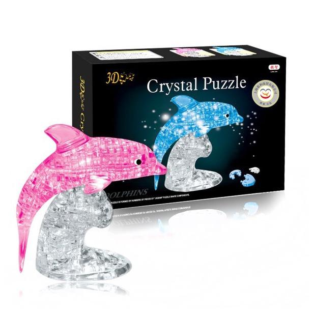 фото Кристальный пазл 3D Crystal Puzzle «Дельфин». В ассортименте