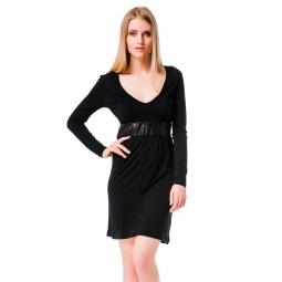 фото Платье Mondigo 8604. Цвет: черный. Размер одежды: 46