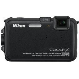 фото Фотокамера цифровая Nikon CoolPix AW100. Цвет: черный