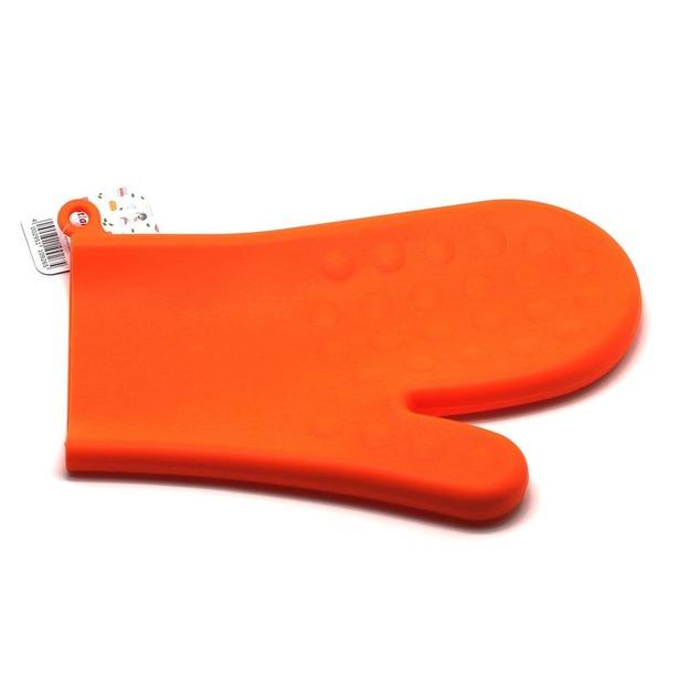 фото Прихватка-варежка силиконовая Atlantis SC-GL-003. Цвет: оранжевый