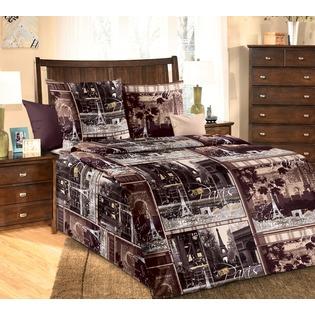 Купить Комплект постельного белья ТексДизайн «Парижские тайны». 1,5-спальный