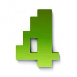 фото Дверной номерок Студия Артемия Лебедева «Дигитус» 4. Цвет: зеленый