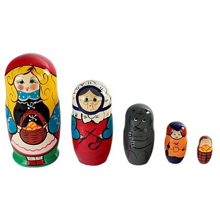 Купить Матрешка БЭМБИ «Красная шапочка»