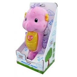 фото Ночник детский музыкальный Жирафики «Морской конек». Цвет: розовый