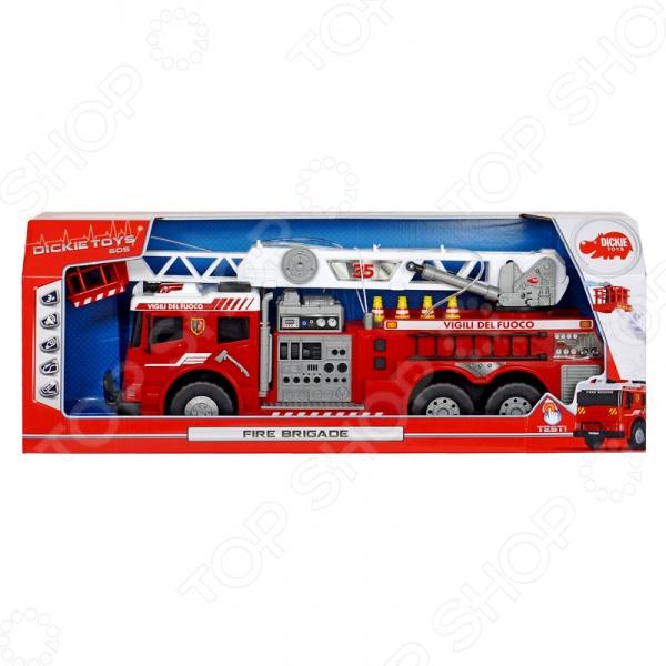 Машинка со светозвуковыми эффектами Dickie «Пожарная»