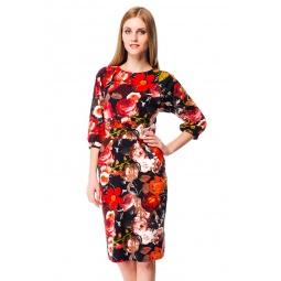 фото Платье Mondigo 5128. Цвет: черный. Размер одежды: 46