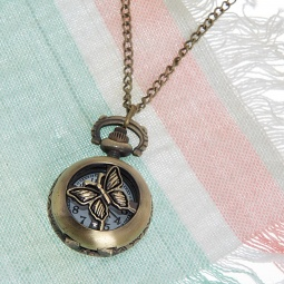 Купить Кулон-часы Mitya Veselkov «Медальон-мотылек»