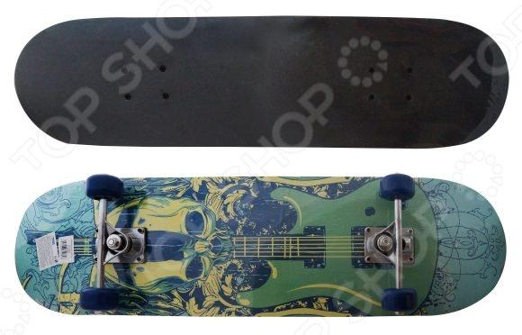 Скейтборд Shantou Gepai Guitar скейтборд с какого возраста можно начинать