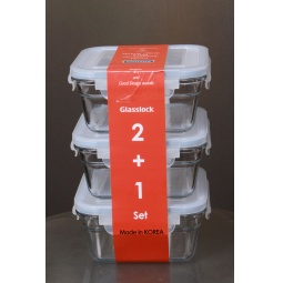 фото Набор контейнеров для хранения продуктов Glasslock GL-1109