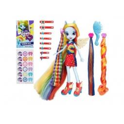 Купить Кукла Hasbro Радуга Дэш «Сделай мне прическу»