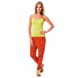 фото Брюки Mondigo 8644. Цвет: оранжевый. Размер одежды: 44