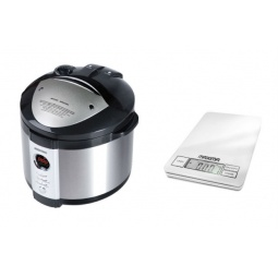 фото Мультиварка Redmond RMC-M4504 и кухонные весы Maxima MS-027
