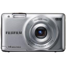 фото Фотокамера цифровая Fujifilm FinePix JX500. Цвет: серебристый