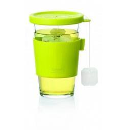 фото Стакан для напитков с крышкой Glasslock GL-1033